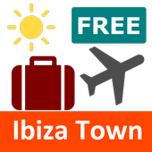 Free Ibiza Town Travel Guide with Maps icon