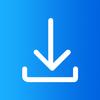 Video-downloader voor Facebook-icoon