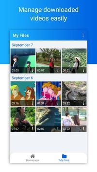 Pengunduh video untuk Facebook screenshot 18