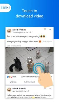 Trình tải video cho Facebook ảnh chụp màn hình 1