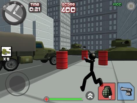 Stickman City Shooting 3D screenshot 7