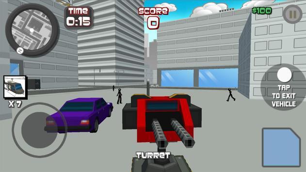 Stickman City Shooting 3D screenshot 11