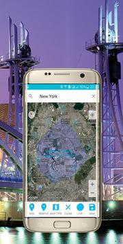 Calculer la zone géographique capture d'écran 4