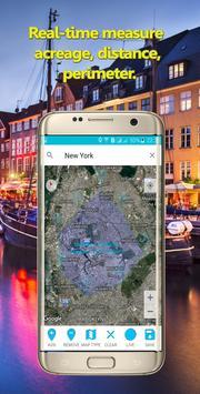 Calculer la zone géographique capture d'écran 5