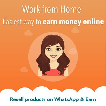 Work from Home, Earn Money, Wholesale Price App स्क्रीनशॉट 2