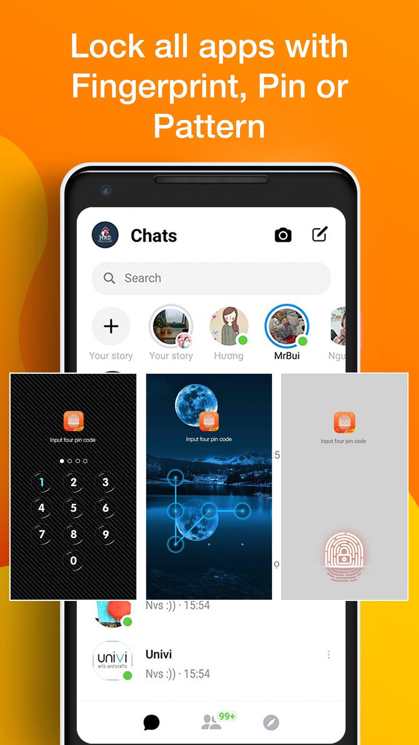 App Lock Fingerprint, Gallery Locker With Password for Android - APK