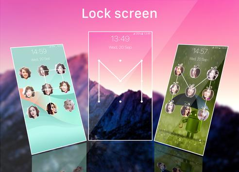 pattern lock screen screenshot 3