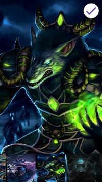 Wolf Fantasy Lock Screen screenshot 3