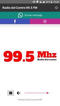 Radio del Centro 99.5 FM poster