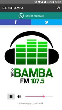 RADIO BAMBA poster