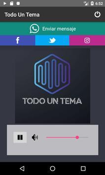 Todo Un Tema screenshot 1