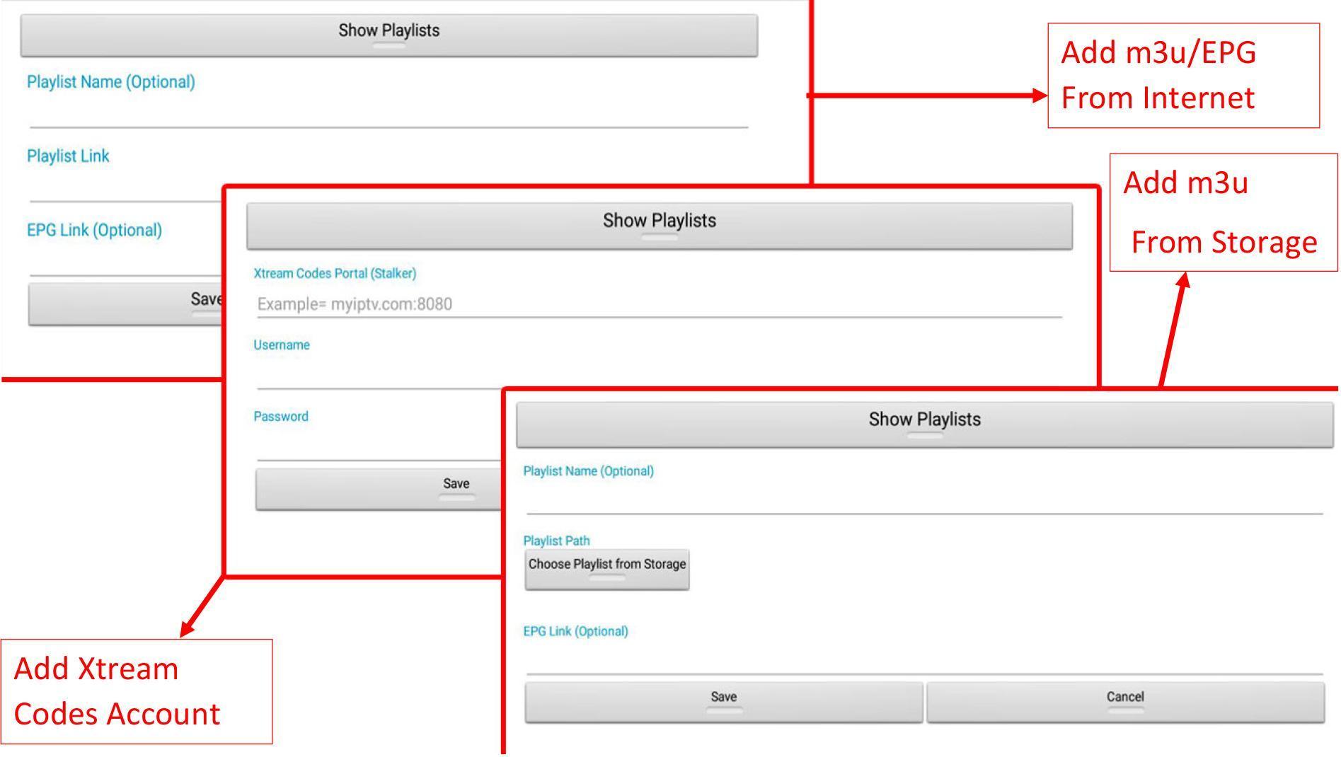 Ultimate IPTV Playlist Loader for Android - APK Download