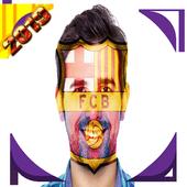 Team logo on the face icon