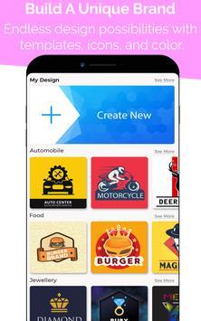 8 Schermata Logo Maker - Logo Creator, Logo Templates