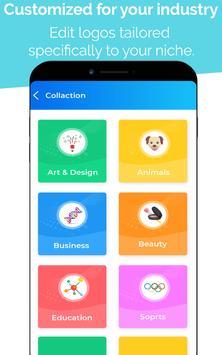 15 Schermata Logo Maker - Logo Creator, Logo Templates