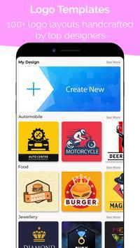 3 Schermata Logo Maker - Logo Creator, Logo Templates