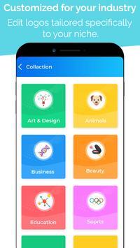 6 Schermata Logo Maker - Logo Creator, Logo Templates