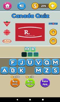 Canada Logo Quiz - Fun Quizzes screenshot 14