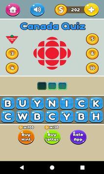 Canada Logo Quiz - Fun Quizzes screenshot 1