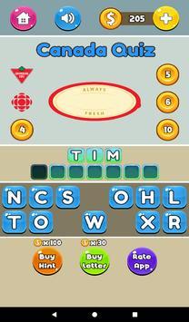 Canada Logo Quiz - Fun Quizzes screenshot 7