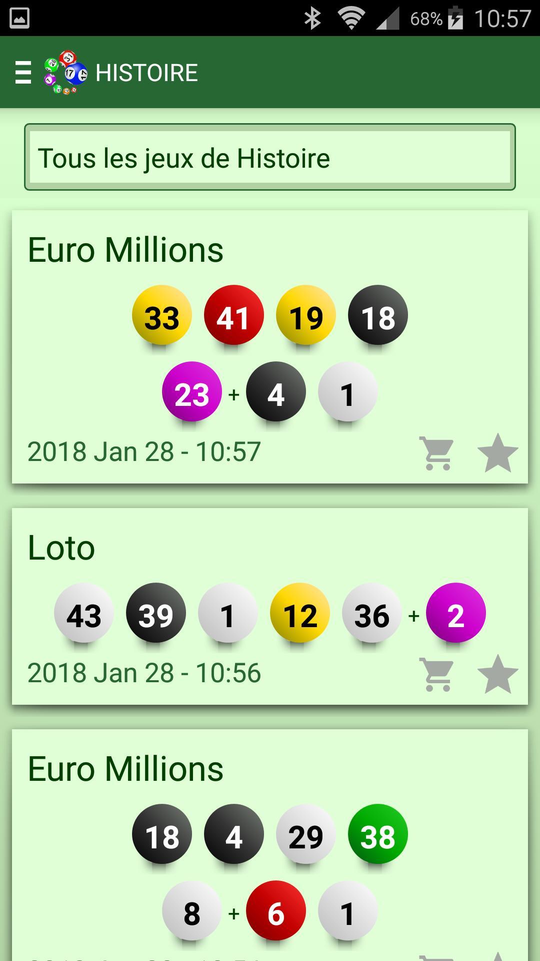 Resultats Des Loteries