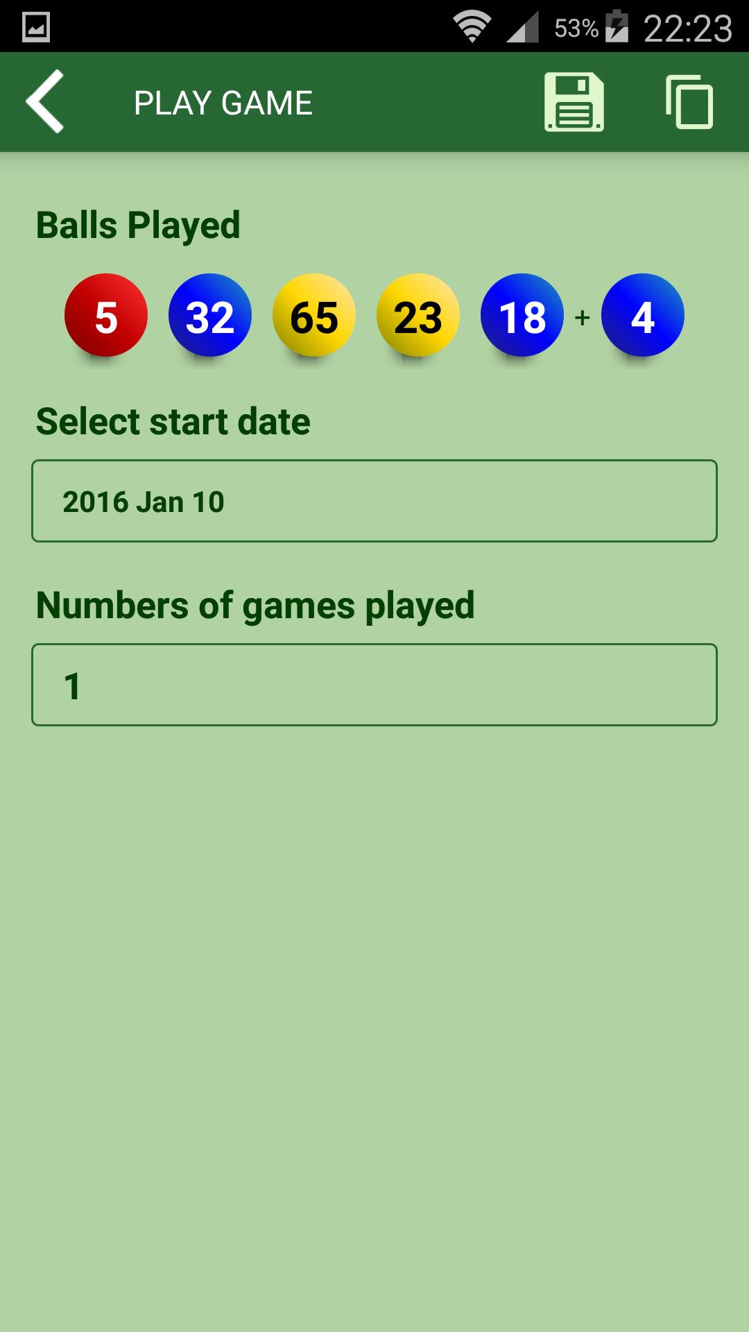 Powerball lottery results and statistics for Android - APK Download