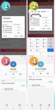 تعديل سجل المكالمات والحفظ الإحتياطي تصوير الشاشة 5