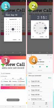 تعديل سجل المكالمات والحفظ الإحتياطي تصوير الشاشة 6