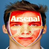 ضع شعار فريقك المفضل على الوجه icon