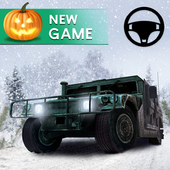 Off-road Jeep Drive-Winter Season Simulator icon