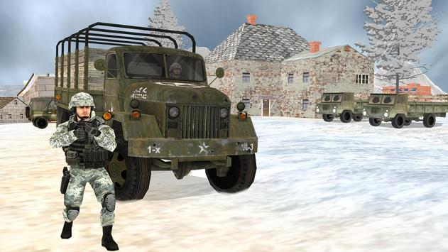 Off-road Jeep Drive-Winter Season Simulator screenshot 6