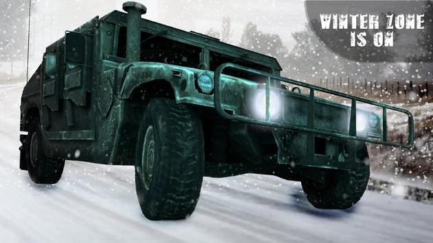 Off-road Jeep Drive-Winter Season Simulator screenshot 2