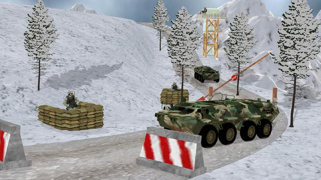 Off-road Jeep Drive-Winter Season Simulator screenshot 5