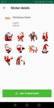 Christmas Stickers For Whatsapp - WAStickerApps poster