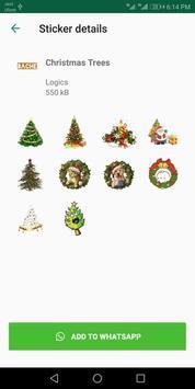 Christmas Stickers For Whatsapp - WAStickerApps screenshot 1