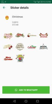 Christmas Stickers For Whatsapp - WAStickerApps screenshot 2