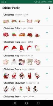 Christmas Stickers For Whatsapp - WAStickerApps screenshot 3