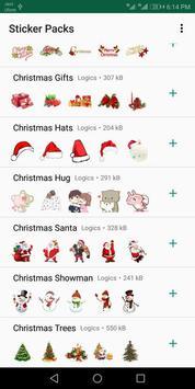 Christmas Stickers For Whatsapp - WAStickerApps screenshot 4