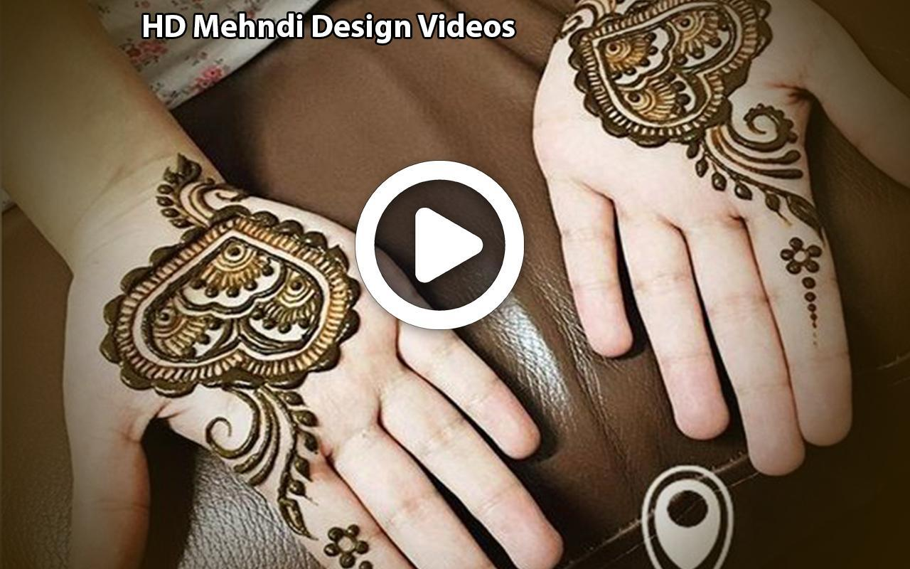 Simple Easy Mehndi Designs Videos Tutorial 2019 For Android