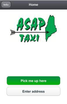 ASAP Taxi Portland Maine poster