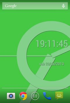 SuperFlat Clock LiveWallPaper screenshot 6