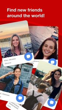 Loka World app - Chat and meet new people ポスター