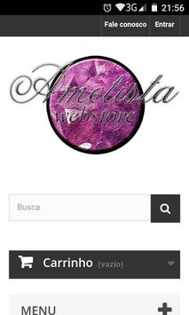 Ametista Webstore poster