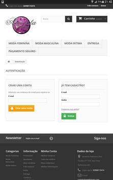 Ametista Webstore screenshot 2