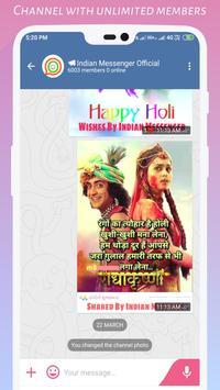 Indian Messenger screenshot 1