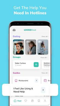 LOOSID – Sober Social Network screenshot 3
