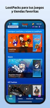 LootBoy captura de pantalla 2