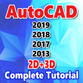 Easy Autocad Tutorial For Beginners icon