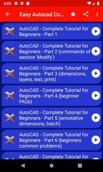 Easy Autocad Tutorial For Beginners poster
