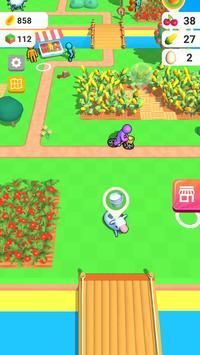 أرض المزرعة: لعبة الزراعة الحياة تصوير الشاشة 3
